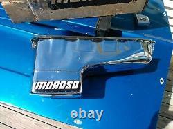 Vintage Moroso 19500 Nos Oil Pan Stroker 7 Quart 9 Profondeur Pour Sbc Chevrolet Jour 2