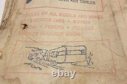 Vintage Nos Pathfinder Car Truck Extérieur Chrome Accessoires De Remorquage Miroir Camper