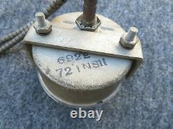 Vintage Stewart Warner Water Temp Gauge # 692e 69521 1950s Grandes Œuvres De Visage